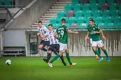 during the match of 7. Round of Slovenian National first league between NK Olimpija Ljubljana and NK Mura on 24.8.2019 in Stadion Stozice, Ljubljana, Slovenia. Photo by Urban Meglič / Sportida
