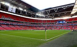 Wembley Stadium ahead of Tottenham Hotspur's first UEFA Champions League Match of the 2016/17 fixture - Mandatory by-line: Robbie Stephenson/JMP - 14/09/2016 - FOOTBALL - Wembley Stadium - London, England - Tottenham Hotspur v Monaco - UEFA Champions League