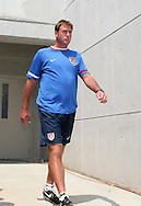 30 July 2006: U.S. goalkeeping coach Mark Dougherty. The United States Women's National Team defeated Canada 2-0 at SAS Stadium in Cary, North Carolina in an international friendly soccer match.
