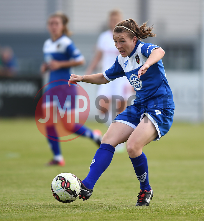 Frankie Brown of Bristol Academy Women - Mandatory by-line: Paul Knight/JMP - Mobile: 07966 386802 - 13/09/2015 -  FOOTBALL - Stoke Gifford Stadium - Bristol, England -  Bristol Academy Women v Liverpool Ladies FC - FA WSL Continental Tyres Cup