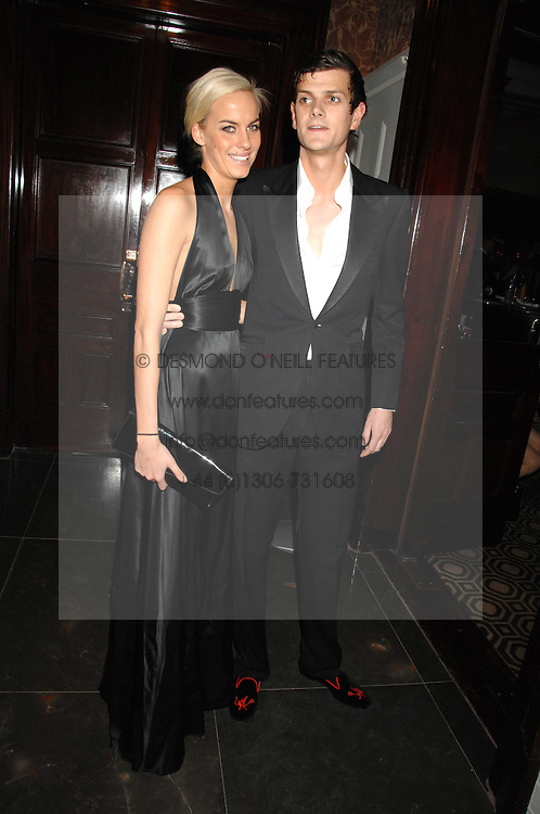 LADY LOUISA COMPTON and the HON.ALEXANDER SPENCER-CHURCHILL at a party to celebrate the launch of the Astley Clarke Fine Jewellery Collection held at The Connaught hotel, London W1 on 28th February 2008.<br /><br />NON EXCLUSIVE - WORLD RIGHTS