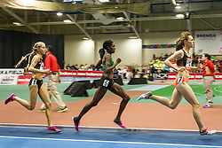 New Balance Indoor Grand Prix track & field, womens 2-mile, Jenny Simpson leads Kipyego, Hasay