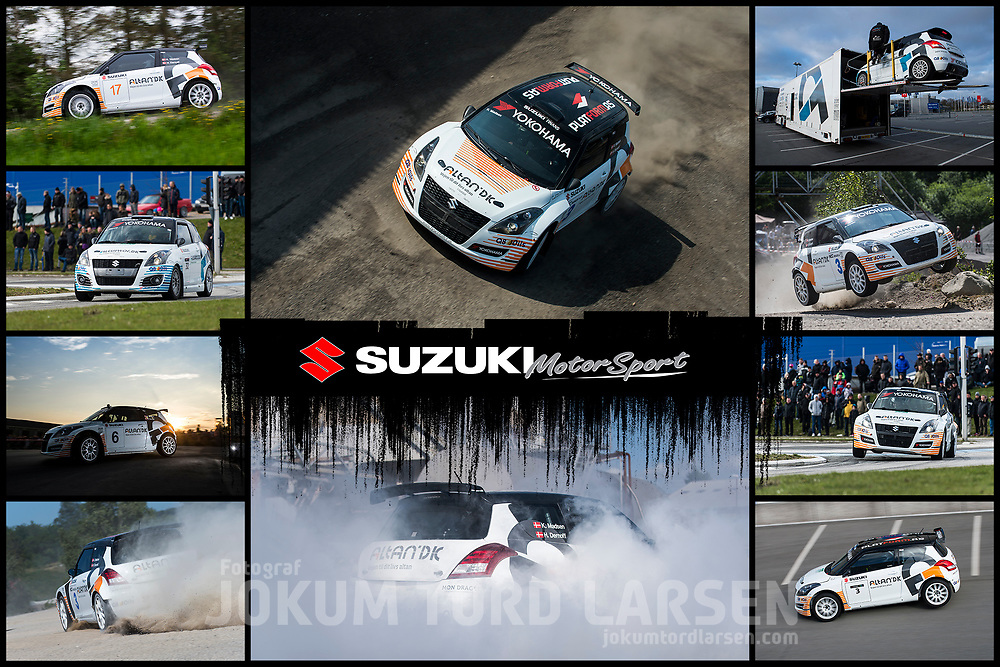 Suzuki Motorsport Poster 2015