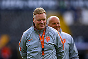 Netherlands Head Coach Ronald Koeman during the Netherlands training session ahead of the Nations League Semi-Final against England at Estadio D. Afonso Henriques, Guimaraes, Portugal on 5 June 2019.