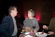 NIGEL HOBDEN; GERMAINE GREER, 2008 Turner Prize Award. Tate Millbank. London. 1 December 2008 *** Local Caption *** -DO NOT ARCHIVE -Copyright Photograph by Dafydd Jones. 248 Clapham Rd. London SW9 0PZ. Tel 0207 820 0771. www.dafjones.com