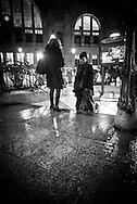 France. Paris. 10th. Gare du Nord , Subway entrance; Guimard style