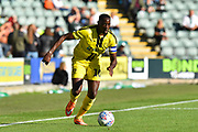 Lucas Akins (10) of Burton Albion on the attack during the EFL Sky Bet League 1 match between Plymouth Argyle and Burton Albion at Home Park, Plymouth, England on 20 October 2018.