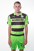 Forest Green Rovers Jordan Morris(22) during the Forest Green Rovers Photocall at the New Lawn, Forest Green, United Kingdom on 31 July 2017. Photo by Shane Healey.