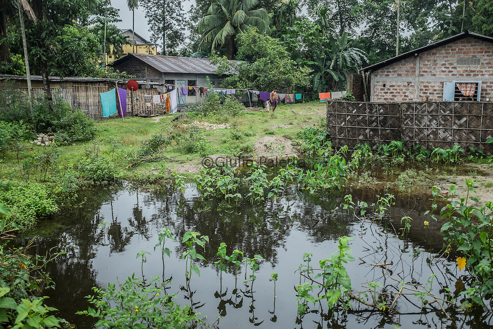 The village of Udalguri, 75 km from Tezpur, Assam state, India