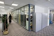 IT department network room exterior