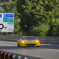 #64, Corvette Racing-GM, Chevrolet Corvette C7.R, driven by, Oliver Gavin, Tommy Milner, Marcel Fassler, 24 Heures Du Mans Test weekend, 04/06/2017,