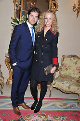 JACK & KATE FREUD at Tatler's Jubilee Party in association with Thomas Pink held at The Ritz, Piccadilly, London on 2nd May 2012.