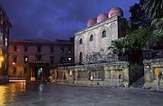 S. Cataldo church, Palermo.<br /> Chiesa di San Cataldo, Palermo