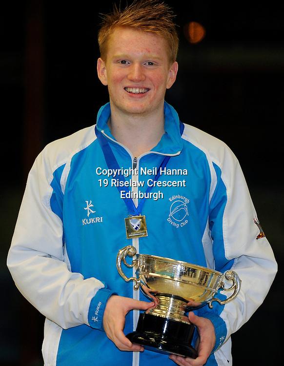 Scottish National Diving Championships & Thistle Trophy 2015<br /> <br /> Event 18 Men's Boys Platform Final<br /> <br /> Royal Commonwealth Pool, Edinburgh<br /> <br /> <br />  Neil Hanna Photography<br /> www.neilhannaphotography.co.uk<br /> 07702 246823