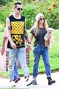 26.AUGUST.2013. LOS ANGELES<br /> <br /> ASHLEY TISDALE AND FIANCEE CHRISTOPHER FRENCH WALKING THEIR DOG IN THE COMPANY OF HER MUM AND DAD IN LOS ANGELES, USA.<br /> <br /> BYLINE: EDBIMAGEARCHIVE.CO.UK<br /> <br /> *THIS IMAGE IS STRICTLY FOR UK NEWSPAPERS AND MAGAZINES ONLY*<br /> *FOR WORLD WIDE SALES AND WEB USE PLEASE CONTACT EDBIMAGEARCHIVE - 0208 954 5968*