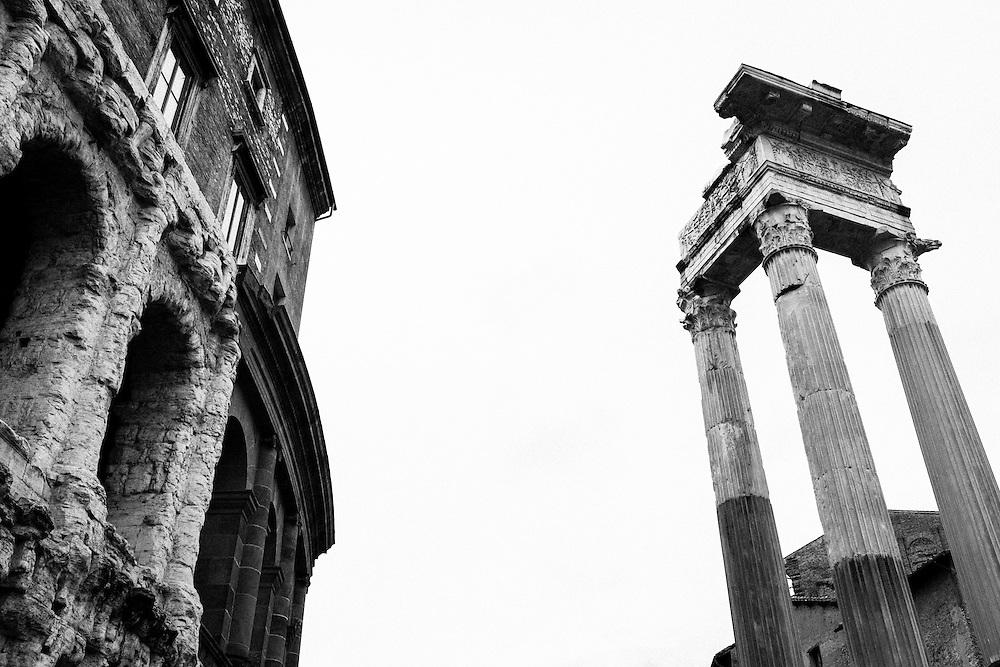 The Jewish Ghetto in Rome.