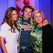 NLD/Hilversum/20130820- Najaarspresentatie RTL 2013, Loretta Schrijver, Quinty Trustfull en Casper Burgli