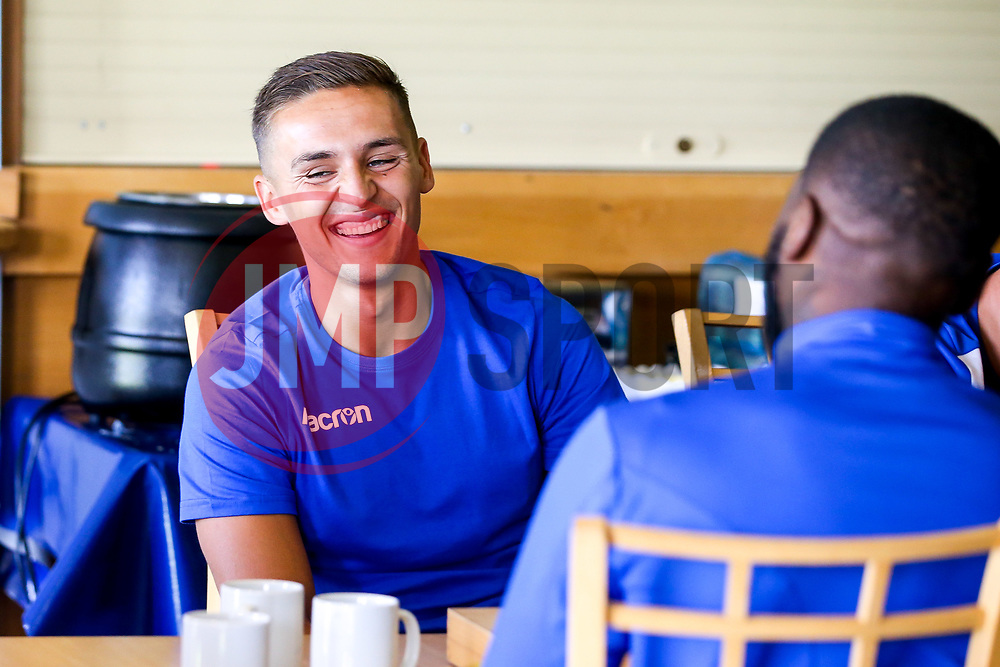 Josh Hare of Bristol Rovers during the first day of preseason training ahead of the 2019/20 Sky Bet League One Season - Mandatory by-line: Robbie Stephenson/JMP - 27/06/2019 - FOOTBALL - The Lawns - Bristol, England - Bristol Rovers Return for Preseason Training
