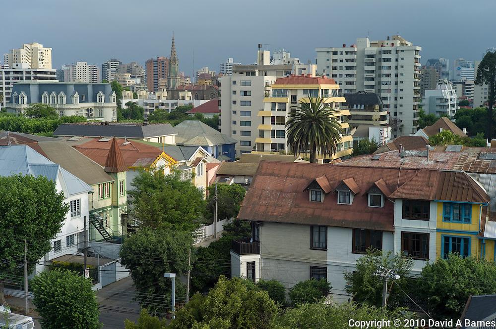Residential neighborhood in Viña del Mar, Chile