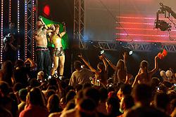 Flo Rida no palco principal do Planeta Atlântida 2014/SC, que acontece nos dias 17 e 18 de janeiro de 2014 no Sapiens Parque, em Florianópolis. FOTO: Vinícius Costa/ Agência Preview