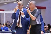De Raffaele Walter, Paternicò Carmelo<br /> Happy Casa Brindisi - Umana Reyer Venezia<br /> Legabasket SerieA  2019 - 2020<br /> Brindisi 03/11/2019<br /> Foto GiulioCiamillo/ Michele Longo