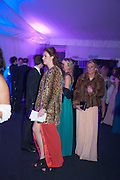 PHOEBE ALEXANDER; LOUISA FERRARI, Quorn Hunt Ball, Stanford Hall. Standford on Soar. 25 January 2014