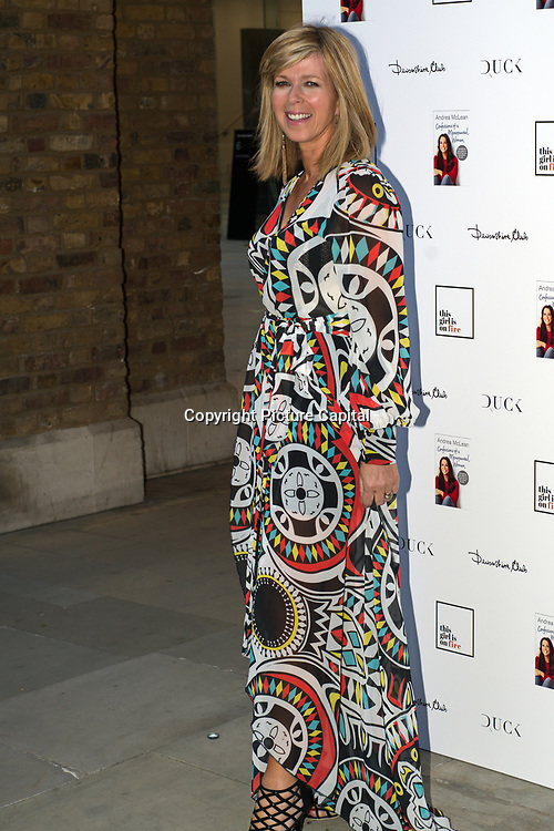 Jane Moore attending the launch of Andrea McLean's new book Confessions of a Menopausal Woman at the Devonshire Club in London on June 26 2018..