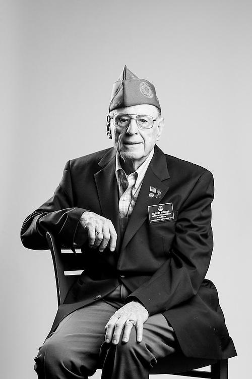 Robert Richeter<br /> Army<br /> E-3<br /> Design Engineer<br /> Dec. 2, 1952 - Dec. 2, 1954<br /> Korean War<br /> <br /> Veterans Portrait Project<br /> Charleston, SC<br /> Jewish War Veterans