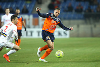 Kevin BERIGAUD - 07.02.2015 - Montpellier / Lille - 24eme journee de Ligue 1<br /> Photo : Andre Delon / Icon Sport