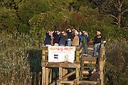 Birders Higbee Beach WMA, NJ, Cape May County