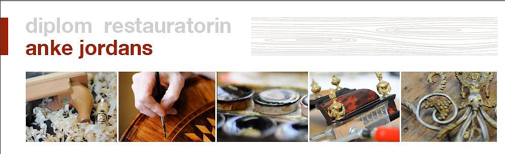 Diplom Restauratorin Anke Jordans,Köln - Schwerpunkt Holzrestaurierung www.holz-restaurieren.de