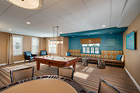 Architectural Interior image of Brightview Perry Hall Phase 2 Maryland Senior Apartments by Jeffrey Sauers of Commercial Photographics, Architectural Photo Artistry in Washington DC, Virginia to Florida and PA to New England