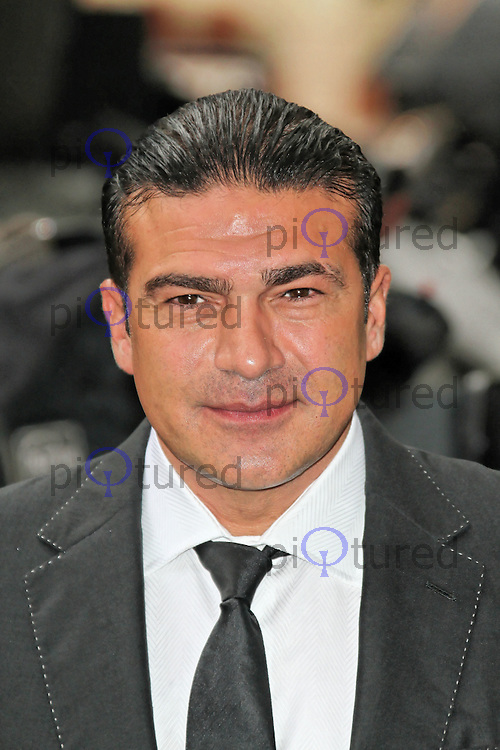 LONDON - JULY 18: Tamer Hassan attended the European Film Premiere of 'The Dark Knight Rises' in Leicester Square, London, UK. July 18, 2012. (Photo by Richard Goldschmidt)