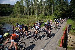 Demi de Jong & Mieke Kröger on the final lap at Boels Rental Ladies Tour Stage 6 a 159.7 km road race staring and finishing in Sittard, Netherlands on September 3, 2017. (Photo by Sean Robinson/Velofocus)
