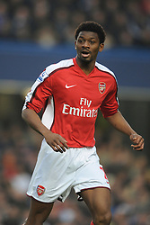 LONDON, ENGLAND - Sunday, February 7, 2010: Arsenal's Abou Diaby during the Premiership match at Stamford Bridge. (Photo by Chris Brunskill/Propaganda)