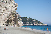 El Carligto, Andalucia, Spain Cantarrijan Beach in Andalucia, Spain