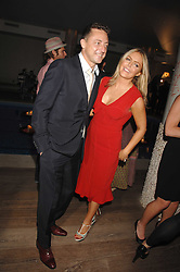 PATSY KENSIT and JEREMY HEALY at a party to celebrate the launch of the Boodles Wonderland jewellery collection held at the Haymarket Hotel, 1 Suffolk Place, London on 9th June 2008.<br /><br />NON EXCLUSIVE - WORLD RIGHTS