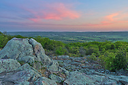 Bald Knob is the only part of Buford Mountain Conservation Area that has a view through the thick trees. The spectacular view is to the west, perfect for watching the sunset over the Belleview Valley.<br /> <br /> Date Taken: May 5, 2014