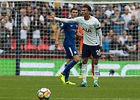 Football - 2017 / 2018 Premier League - Tottenham Hotspur vs. Chelsea <br /> <br /> Dele Alli (Tottenham FC)  shows his frustration at a team mate for not passing quick enough at Wembley Stadium.<br /> <br /> COLORSPORT/DANIEL BEARHAM
