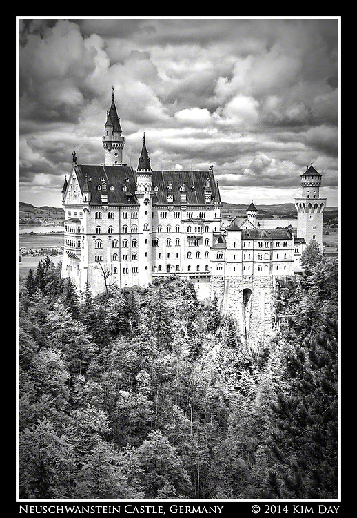Schloss Neuschwanstein <br /> Germany<br /> May 2014
