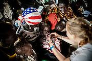 Six year since independence in South Sudan, the war for the management of black gold continues to kill civilians. Tens of thousands of people and community escape from Sudan, for searching the help inside the refugees camps in South Sudan completely inadequates, overcrowded, and without primary necessities. About 55,000 refugees live the camps of Dora and Yusuf Batil inside the province of Maban. Malnutrition, diarrhea and malaria are the major causes of deaths. Five is the average number of children per day die in the camps. An unprecedented emergency. Several international agencies have implemented support programs inside the refugees camps.<br /> <br /> A sei anni dall'indipendenza in Sud Sudan, la guerra per la gestione dell'oro nero continua ad uccidere civili. Nella totale indifferenza della comunit&agrave; internazionale decine di migliaia di persone, in fuga dal Sudan, cercano la salvezza nei campi rifugiati del Sud Sudan che sono per&ograve; totalmente inadeguati, sovraffollati e privi di generi di prima necessit&agrave;. Un emergenza umanitaria senza precedenti che vede 55.000 rifugiati nei campi di Dora e Yusuf Batil che insistono nella provincia di Maban. Secondo le stime di Medici Senza Frontiere, nei campi muoiono la media di cinque bambini al giorno. Malnutrizione, diarrea e malaria sono le maggiori cause dei decessi.
