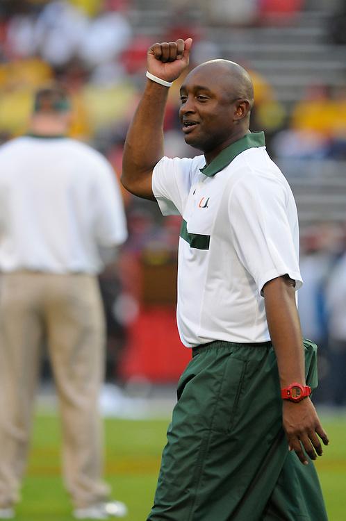 2011 Miami Hurricanes Football @ Maryland<br /> <br /> George McDonald