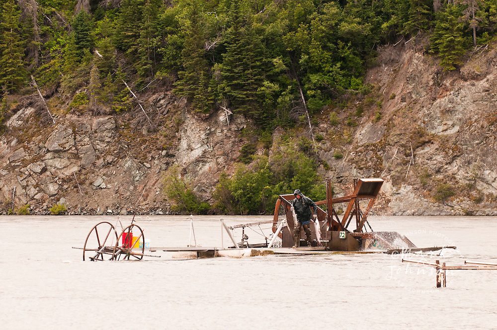 Salmon Wheel in the Copper River, Alaska