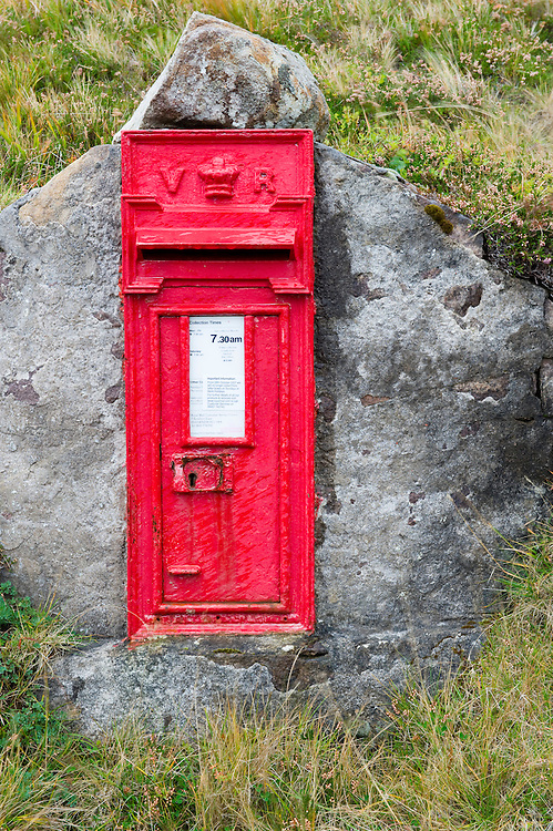 Victorian age post office box, Redpoint, Scotland