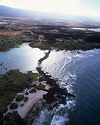 Kaloko Fishpond, Honokohau, Kona Coast, Island of Hawaii