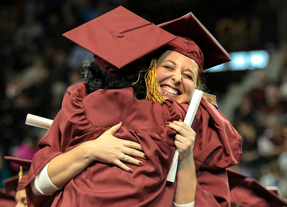 1:30 pm Fall Commencement 2016 ceremony at Central Michigan University. Central Michigan University photos by Steve Jessmore