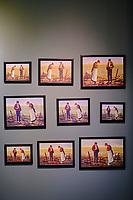 France, Manche (50), Cotentin, Cap de la Hague, Gréville-Hague, le hameau de Gruchy, la maison natale du peintre Jean-François Millet // France, Normandy, Manche department, Cotentin, Cap de la Hague, Gréville-Hague, le hameau de Gruchy, house of painter Jean-François Millet