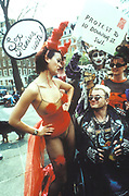 Sex Maniacs unite, demonstraters for sexual freedom, London 1980's