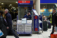 Victoria Station, in the morning of the 8th of July 2005