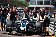 May 24-27, 2017: Monaco Grand Prix. Romain Grosjean (FRA), Haas F1 Team, VF17